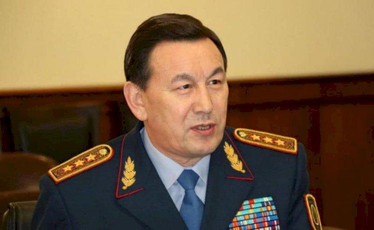 Президент поблагодарил Калмуханбета Касымова за службу
