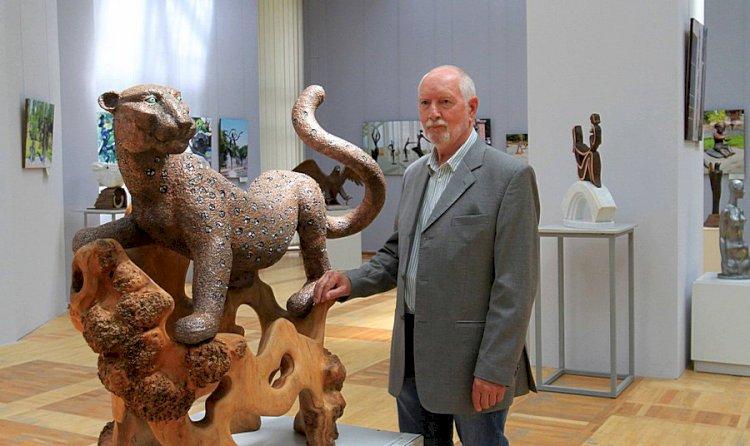 Кусочек города появился в Музее искусств Казахстана имени Абылхана Кастеева