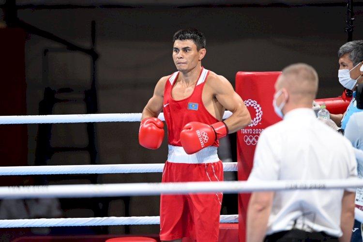 Закир Сафиуллин вышел в 1/4 финала по боксу ОИ-2020
