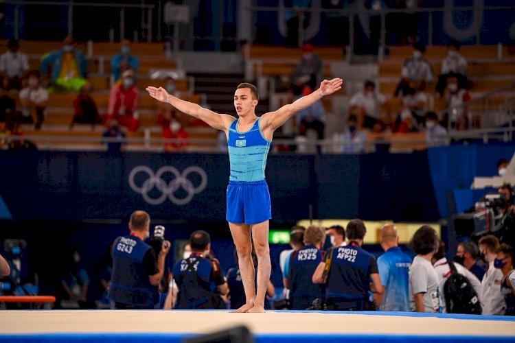 Казахстанский гимнаст стал пятым на Олимпийских играх в Токио