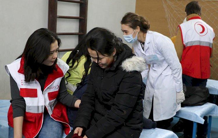 На электронной карте Алматы появились пункты приема пострадавших при ЧС
