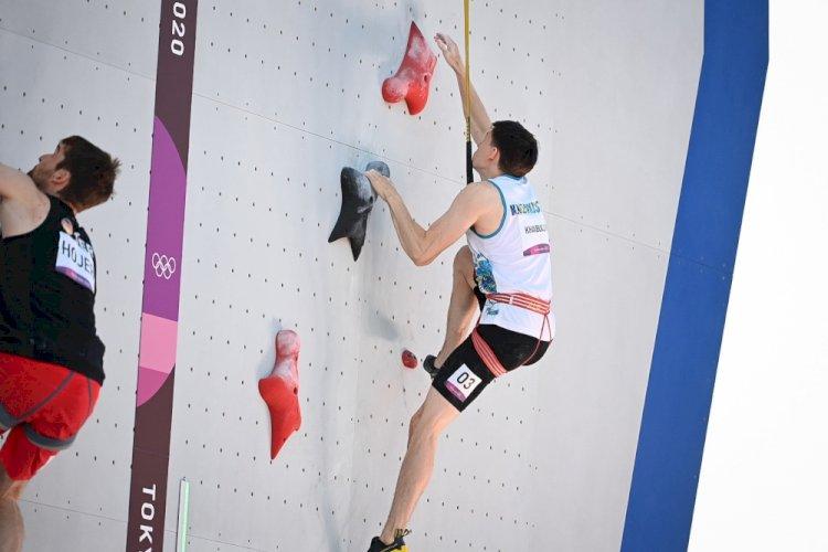 Ришат Хайбуллин стал четвертым в квалификации скалолазания на Олимпиаде