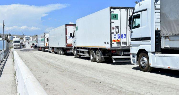 Более 290 грузовиков застряли на пограничных переходах Казахстана