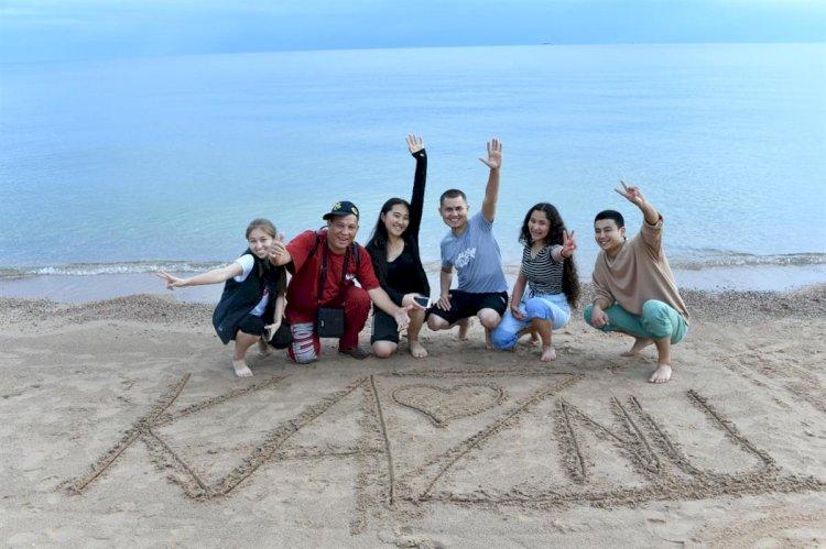 Вакцинированные отдохнули на Иссык-Куле