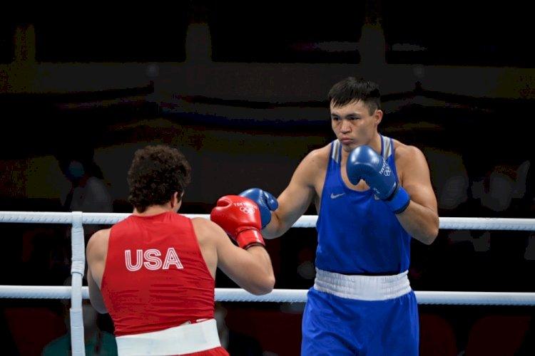 Боксер Камшыбек Кункабаев завоевал бронзовую медаль Олимпиады