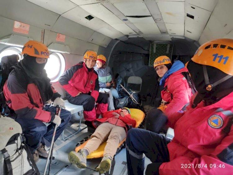 Российской туристке стало плохо в горах Заилийского Алатау