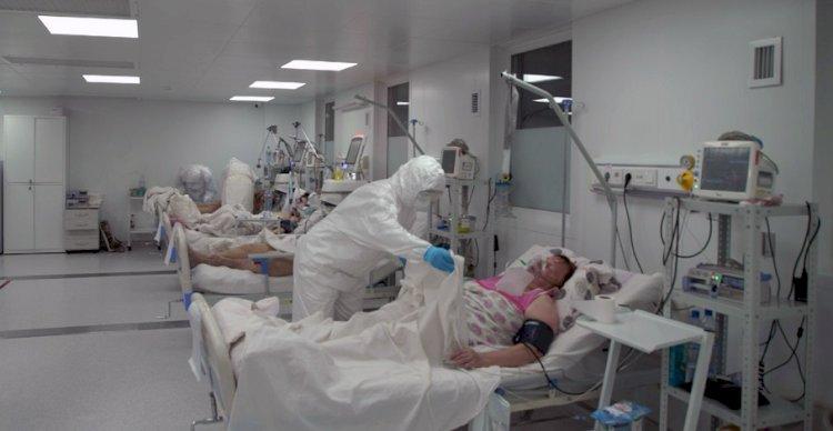 В больницах Казахстана заняты более половины инфекционных коек