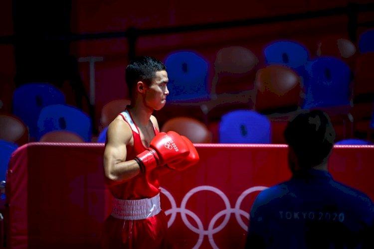 Боксер Сакен Бибосынов стал бронзовым призером Олимпиады в Токио