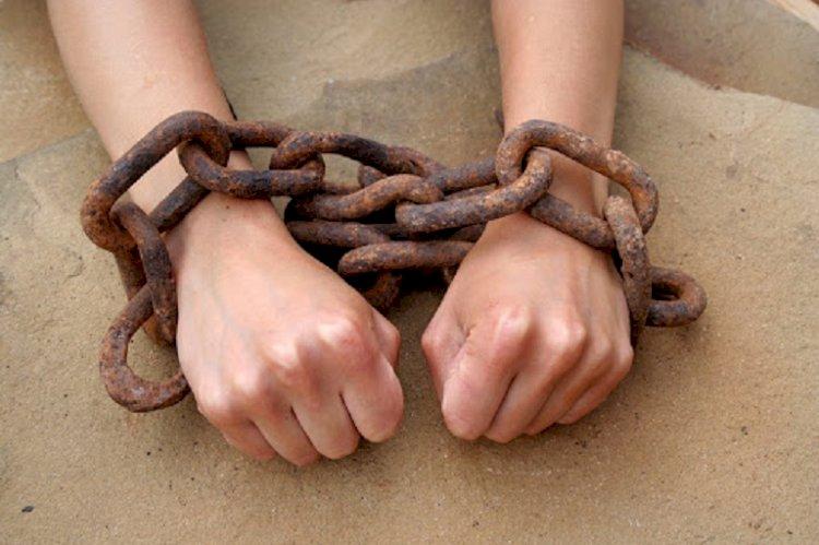 Акцию против торговли людьми провело молодежное крыло Jas Otan Алматы