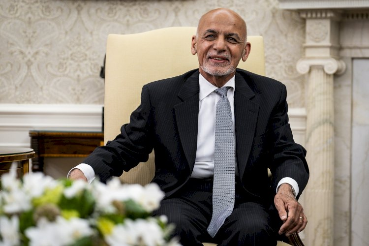 Стало известно точное местонахождение президента Афганистана