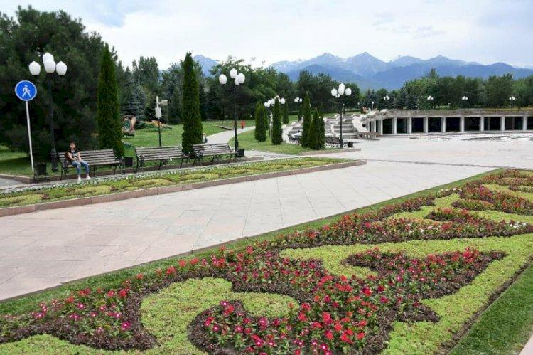 Как в Алматы благоустраивают общественные пространства