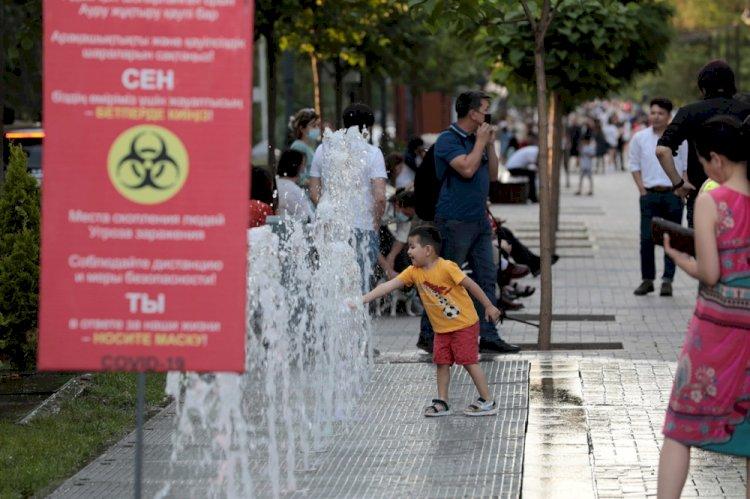 «Красная» зона по коронавирусу продолжает сокращаться в Казахстане