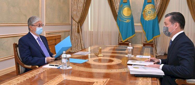 Касым-Жомарт Токаев указал на необходимость цифровизации водной сферы
