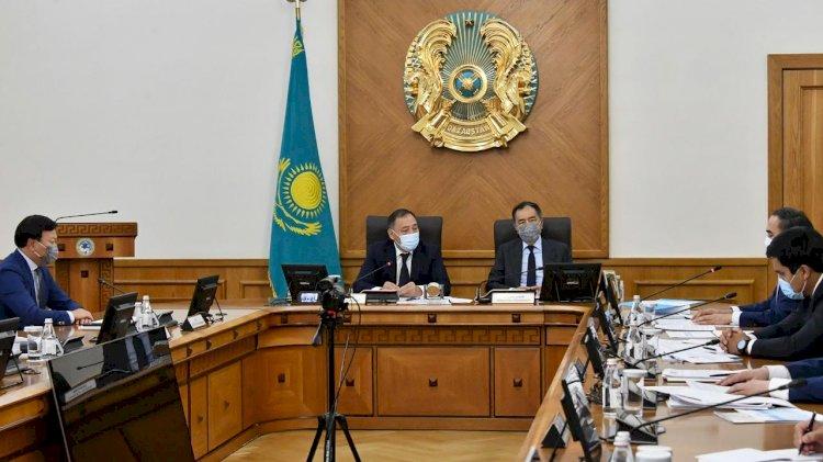 Развитие эпидситуации по КВИ рассмотрено в рамках республиканского штаба в Алматы