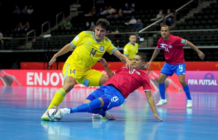 Сборная Казахстана по футзалу разгромила со счетом 6:1 команду Коста-Рики