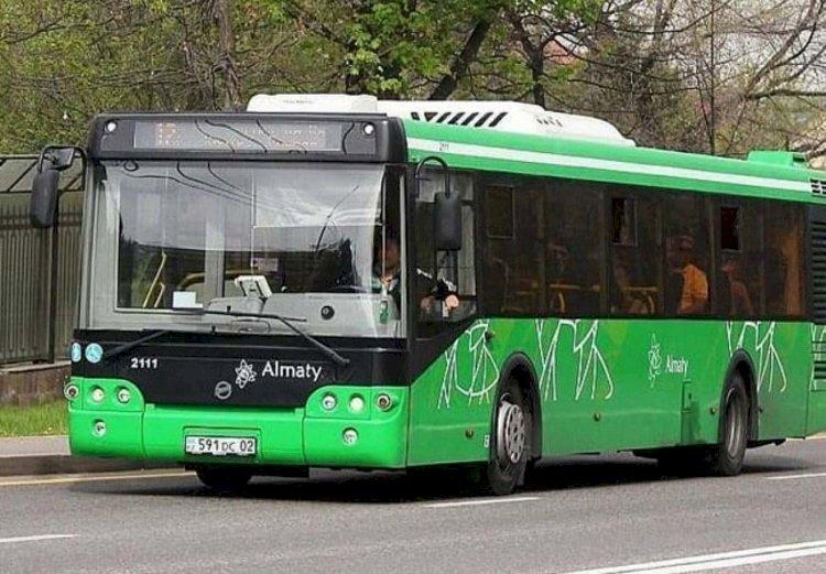 Схема еще одного автобусного маршрута изменится в Алматы