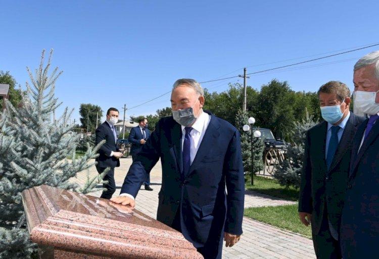 Нурсултан Назарбаев прибыл в Жамбылскую область