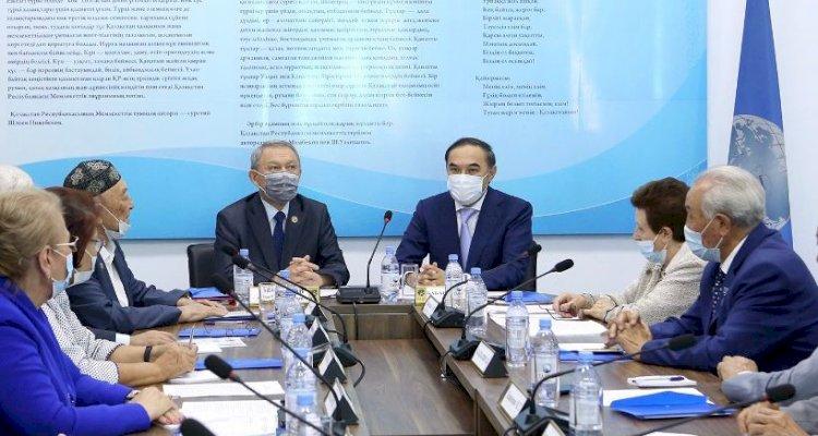 Ержан Бабакумаров провел Х отчетно-выборную онлайн-конференцию городского Совета ветеранов
