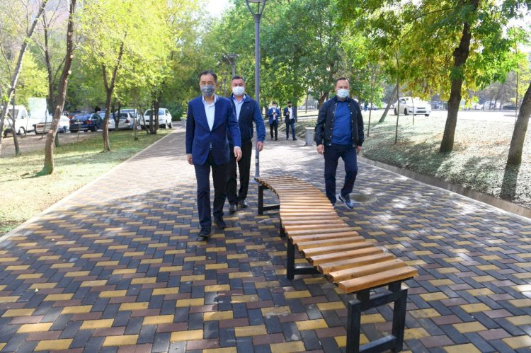 Благоустроенные общественные пространства создаются в Алматы на месте заброшенных участков