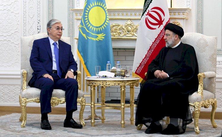 Касым-Жомарт Токаев встретился с новым президентом Ирана