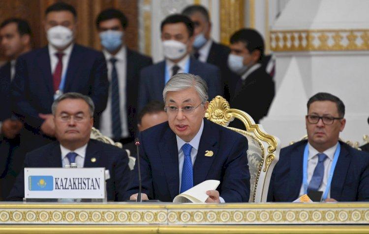Токаев предложил открыть в Алматы хаб ШОС для доставки гуманитарной помощи Афганистану