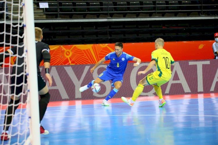 Сборная Казахстана по футзалу одержала вторую разгромную победу на чемпионате мира
