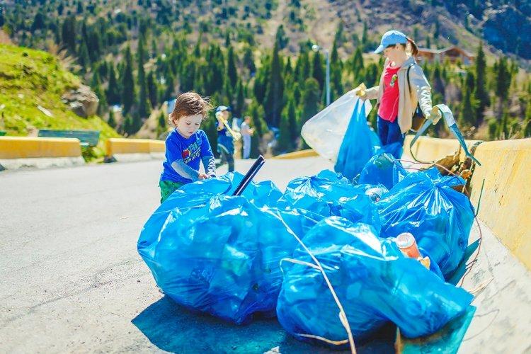 Накануне Дня города Алматы присоединился к Всемирной акции World Clean up day 2021