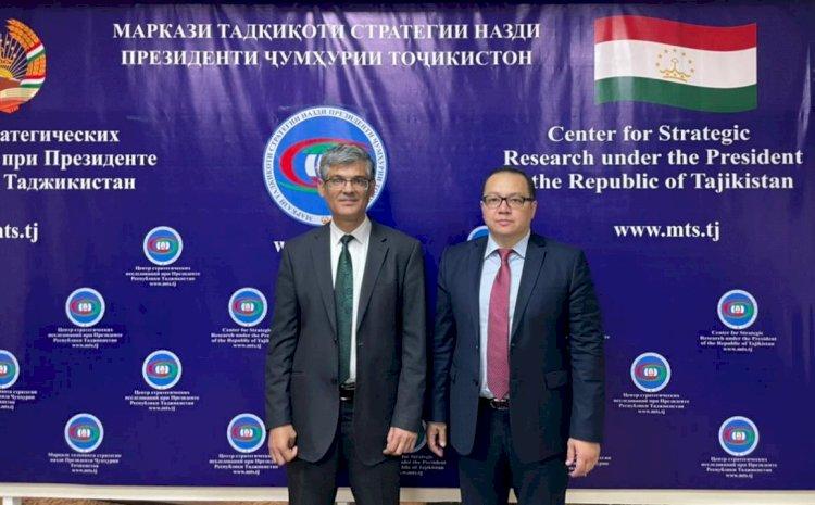 Главы аналитических структур МИД Казахстана и Таджикистана встретились в Душанбе