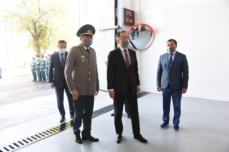 В Наурызбайском районе Алматы открыта современная пожарная часть