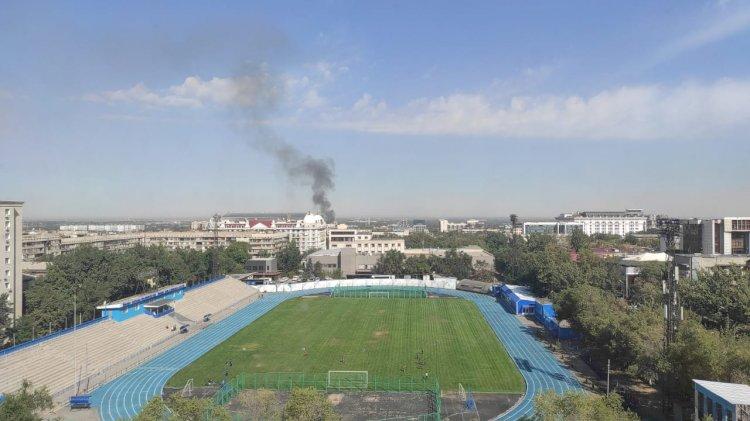 Потушен пожар в частном доме в Алматы