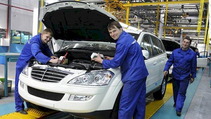 Каждый второй новый проданный легковой автомобиль в РК отечественного производства