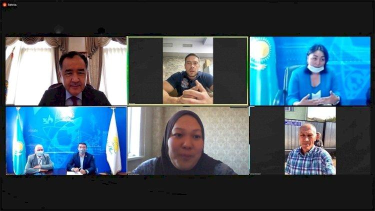 Бакытжан Сагинтаев поручил решить вопросы горожан, обратившихся в приемную Nur Otan