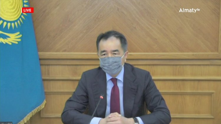 Вакцинироваться и соблюдать меры эпидбезопасности призвал Бакытжан Сагинтаев