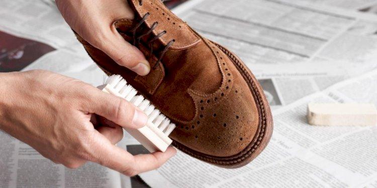 Простой способ очистить замшевую обувь – лайфхак от известного блогера