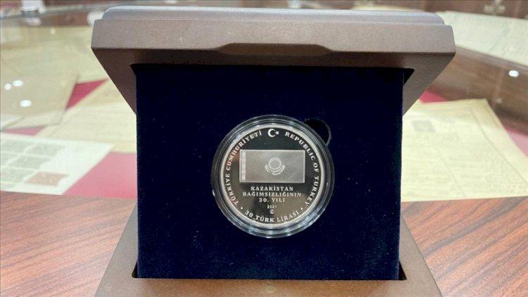 В Турции презентовали юбилейную монету Независимости Казахстана