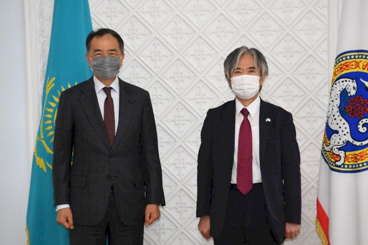 Бакытжан Сагинтаев встретился с Послом Японии в Казахстане