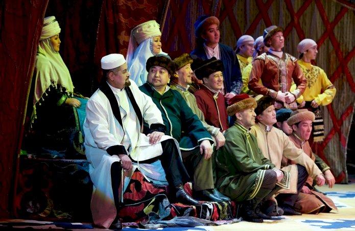 Театр имени Абая восстановит спектакли, составляющие национальное культурное наследие