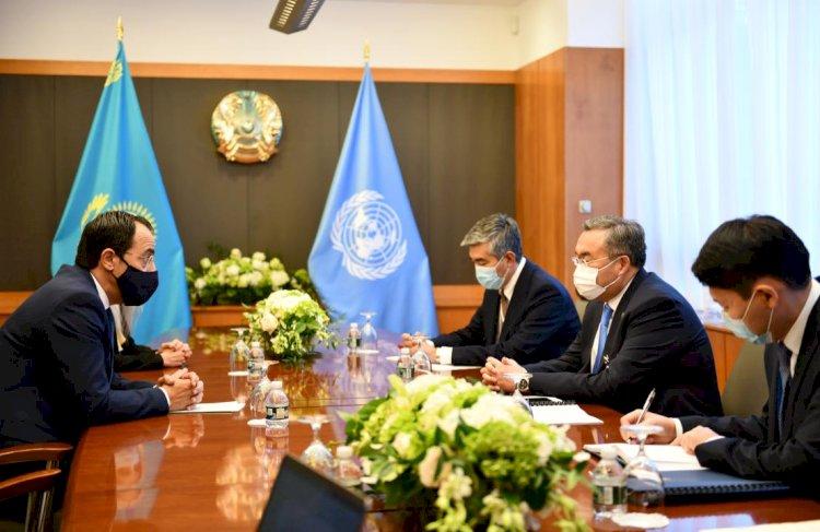 Глава МИД РК провел встречи с руководством ООН в Нью-Йорке