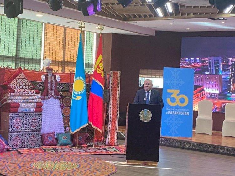 В Улан-Баторе открылась выставка, посвященная 30-летию Независимости РК