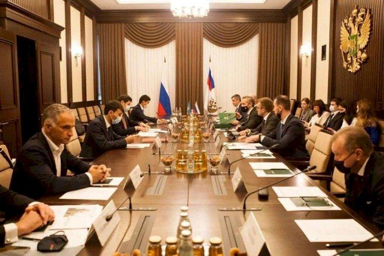 Вице-министры финансов РК и РФ обсудили вопросы взаимного сотрудничества