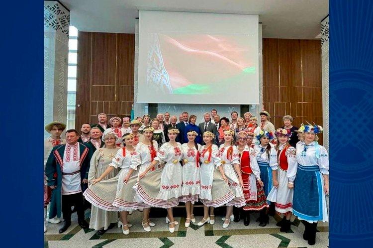 Глава Минкультуры Беларуси поблагодарил Правительство и АНК за поддержку белорусского этноса Казахстана
