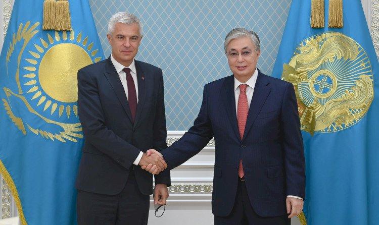 Президент Казахстана принял министра иностранных и европейских дел Словакии