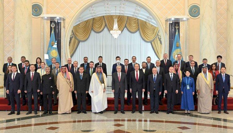 Токаев провел встречу с главами делегаций, участвующих в работе заседания СМИД СВМДА