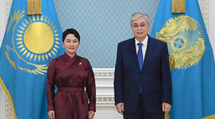 Касым-Жомарт Токаев принял министра внешних сношений Монголии